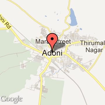 Tourist Places In ADONI Attractions Adoni Places To Visit Near - Adoni map