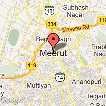 Meerut India Map.Meerut Map