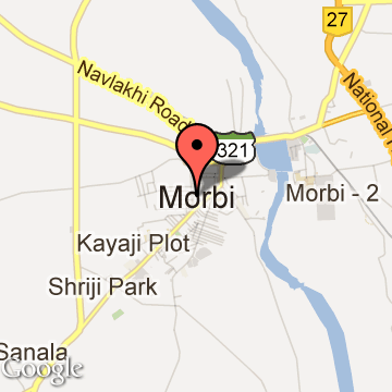 MORBI Tourism Tourist Places Near MORBI Travel Guide - Morvi map